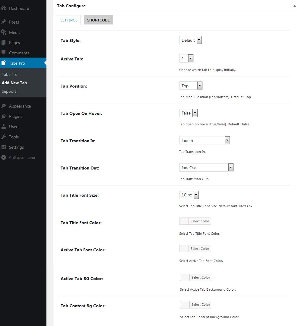 Documentation – Tab Shortcode Ultimate